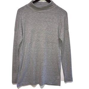 J. Crew Vintage || fleece sweater with slits